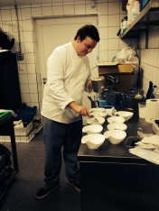 Chef Bertrand Thienpont