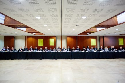 De Europese notariaten op bezoek in hetNotarishuis