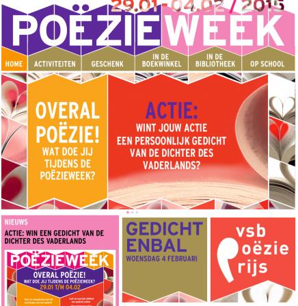 Aloïs Van den Bossche dicht ter gelegenheid van Gedichtendag2015