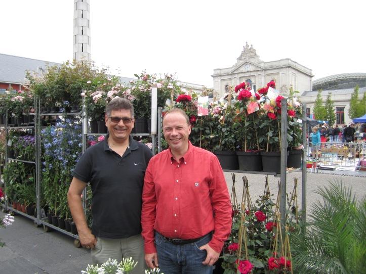 Organisators Vincent Vranck en Christiaan Lenaerts