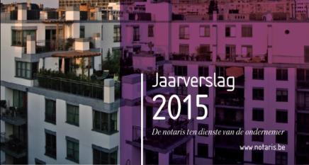 Jaarverslag 2015: Bijna 1 miljoen notariële akten in 2015 is nieuwrecord