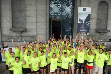 20km door Brussel, editie 2017: het team van het notariaat was opnieuwparaat!